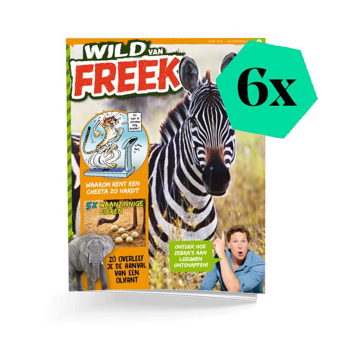 Wild van Freek 6 nummers