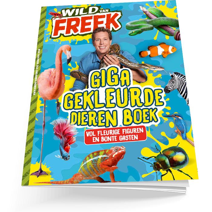 Wild van Freek zomerboek 2021