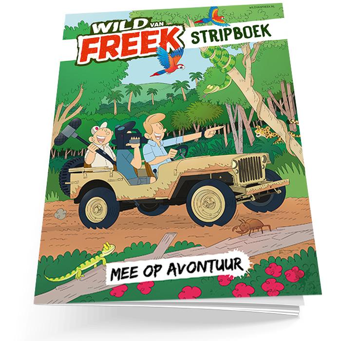 Wild van Freek stripboek